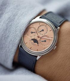 Perpetual Calendar, Gold Hands, Audemars Piguet, Carat Gold, Vintage Watches, Omega Watch, White Gold, Instagram, Accessories