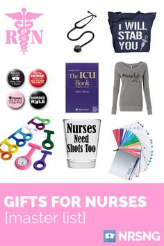 wow . . .awesome list of gifts for nurses!  check these out.