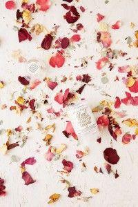 Thimblepress Floral Push Pop Confetti