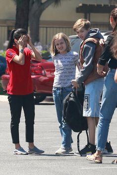 See photos of Shiloh Jolie-Pitt. Angelina Jolie Family, Brad And Angelina, Shiloh Jolie, Jolie Pitt, Baby Photos, Couple Photos, Charlie Brown And Snoopy, Hollywood Life, Brad Pitt