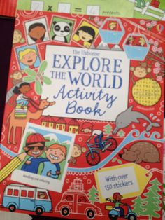 Usborne Explore the World Activity Book  $12.99 This fantastic activity book is packed with tricky puzzles, games to play, codes to crack, doodles to draw, stickers to stick and lots, lots more. www.familyreadinghabit.com