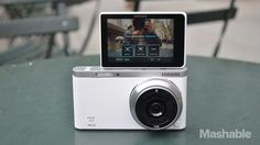 Samsung NX Mini Is the Perfect Camera for the Selfie-Obsessed. #samsung #nxmini #camera