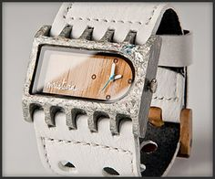 Saw these wood Mistura watches at the Art's Festival. I love them!!!! Such interesting face options