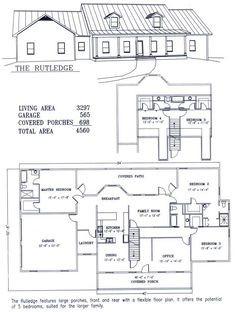 The Lakeview Residential Steel House Plans Manufactured Homes - Barn home plans blueprints