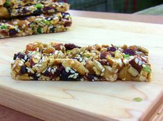 Homemade TRIO Bars and Homemade KIND Bars | power hungry