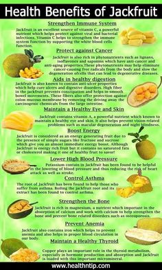 Jackfruit Nutritional Values and Health Benefits | Health Pedia