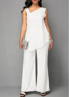 2a179c655d1 xl white Jumpsuits   Rompers For Women Online Shop Free Shipping
