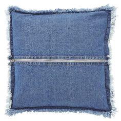 Housse de coussin Jurre 45x45 cm bleu