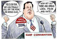 Editorial And Political Cartoons on fb. #UniteBlue