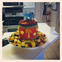 Healthy birthday cake!