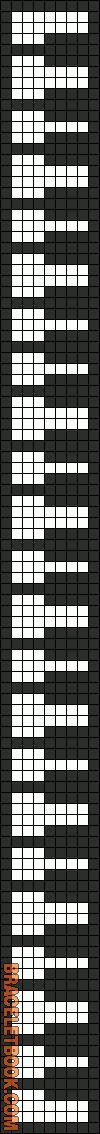 Alpha Friendship Bracelet Pattern #3098 - BraceletBook.com