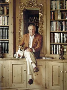 Rugged, Refined, and Rakish: Refined Frederick Forsyth, Masculine Style, James Patterson, Authors, Writers, Scientists, Mystery, Brother, Art