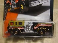 Matchbox Pierce Dash fire truck