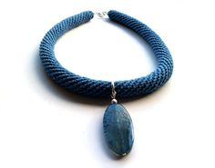 Agate in blue by Vesperto on Etsy, £25.50