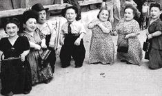 "Dwarves newly arrived at Auschwitz. Unless the SS found them entertaining, dwarves and other ""imperfects"" or ""life-unworthy-of-life"" had life spans measured in hours or minutes once they debarked onto the selection ramp at Birkenau."