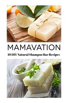 10 Natural Homemade Shampoo Bar Recipes for DIYers Wanting Beautiful Hair naturalshampoo Diy Shampoo, Homemade Shampoo, Homemade Skin Care, Shampoo Bar, Homemade Hair, Homemade Soaps, Homemade Beauty, Diy Beauty, Beauty Hacks