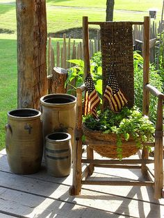 Perfect thing to do with old Rocking Chair