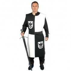 Medieval Knight Costume, Larp, Motorcycle Jacket, Dresses For Work, Costumes, Jackets, Fashion, Medieval Swords, Knights