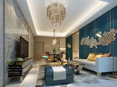 Interior Ceiling Design, Interior Design Living Room, Room Interior, New Kitchen Interior, 3d Max, Postmodernism, Drawing Room, Hall Design, Post Modern