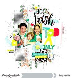 Pretty Little Studio: 100% Irish (Today Only)