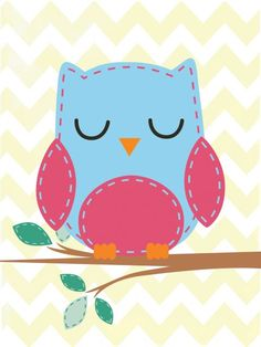 Corujinha Baby Posters, Art Diary, Owl Cartoon, Cute Owl, Nursery Neutral, Painting For Kids, Cute Illustration, Mobile Wallpaper, Pattern Wallpaper