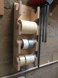 Tape dispenser/holder #shedideas