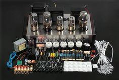 Douk Audio Latest Vacuum Pure Handmade Tube Amplifier Stereo Hi-Fi Channel Integrated Amp Diy Electronics, Consumer Electronics, Home Theater Amplifier, Hifi Separates, Valve Amplifier, Audiophile Speakers, Home Theater Setup, Vacuum Tube, Diy Kits
