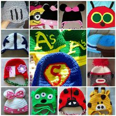 Check out this item in my Etsy shop https://www.etsy.com/listing/199041557/custom-made-crochet-beanies-for-babies