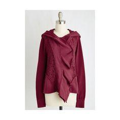 Steampunk Mid-length Long Sleeve My Regular Jaunt Hoodie ($45) ❤ liked on Polyvore featuring tops, hoodies, apparel, hoodie jacket, jackets, outerwear, red, purple sweatshirt, pullover hooded sweatshirt and purple hoodies