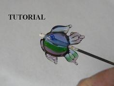 Tutorial fish lampwork bead by karibeads on Etsy, $9.95