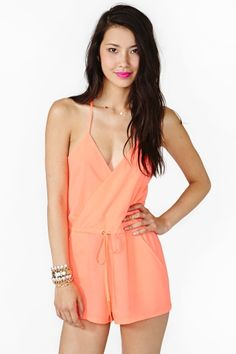 Coral Romper - Shop Bliss XO will be carrying this exact romper!!  Launching Summer/Fall 2013! Follow us!