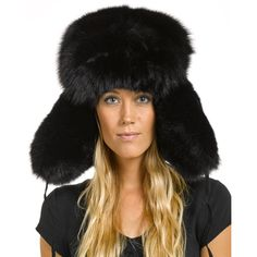 4bc7813c476 Shop FurHatWorld for the best selection of Premium Full Fur Russian Style  Hats. Buy the Ladies Black Fox Full Fur Russian Hat by FRR with same day  shipping.