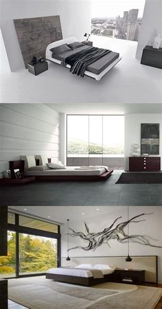 Top Home Design 98 Cozy Minimalist Bedroom Decorating Ideas 48 Modern Minimalist Bedroom, Minimalist Home Decor, Contemporary Bedroom, Modern Bedroom, Narrow Bedroom, Bedroom Neutral, Bedroom Small, Bedroom Layouts, Bedroom Sets