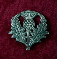 "Scottish Thistle Pin - Pewter by Pins and Brooches. $21.00. Great finishing touch for Renaissance, Medieval, Cavalier, Regency, Elizabethan, Colonial, Georgian, English Civil War, American Revolutionary War Cloaks, Capes, Coats or Sweaters for all periods.. Scottish Thistle Pin -  Pewter - Size: 1 1/2 by 1 ½"" Scottish Thistle Pin. Excellent for a period look for Renaissance, Victorian, Gothic or Edwardian as well as most other periods and modern interpretations. Size: 1 1/2 b..."