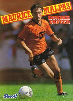 Maurice Malpas Dundee United, World Famous, One Team, Ant, The Unit, Football, Adidas, Club, History
