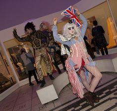 Guests stepped back into the and explored the creativity and theatricality of London's dynamic fashion and club scenes. Back To The 80's, V & A Museum, October 2013, Friday, Creative, Fashion, Cultural Events, Moda, Fashion Styles