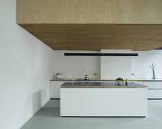 Phase II is a minimal extension and refurbishment of a living space located in London, United Kingdom, designed by West Architecture. (5)