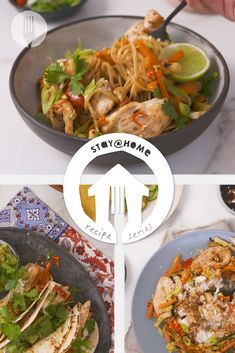Freezer food made FAB! 💥 Prep stir fry and chicken on a sheet pan and serve 3 ways to create 3 delicious meals! Fried Vegetables, Chicken And Vegetables, Sesame Seeds Recipes, Sweet Sticky Rice, Freezer Food, Sweet Chilli, Vegetable Stir Fry, Chicken Stir Fry, Fresh Coriander