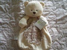 Baby Gear Tan Brown Minky Swirl Teddy Bear Security Blanket Lovey Plush Toy   eBay Baby Security Blanket, Softies, Baby Gear, Texas, Plush, Teddy Bear, Toy, Community, Brown