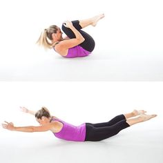 Opposite Arm/Leg Dips - Home Workout: 5 Awesome Total-Body Toners - Shape Magazine - Page 5