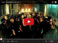 Watch: Five - Everybody Get Up See lyrics here: http://5ive-lyrics.blogspot.com/2009/12/everybody-get-up-5ive.html #lyricsdome