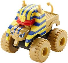 Travel to ancient Egypt with Sphinx Truck and his Monster Machine pals as they race and roll on a whole new adventure! This specially designed collectible die-cast monster truck features big wheels an...