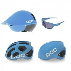 Garmin-Sharp 2014 official helmets and glasses by swedish company POC