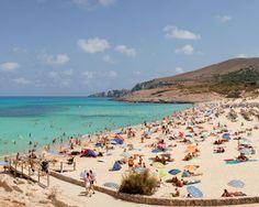 Went swimming here.  Palma Majorca