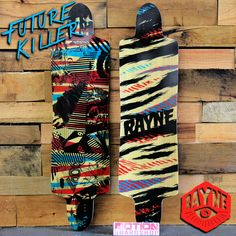 The new Rayne Future Killer is here! http://www.motionboardshop.com/collections/rayne-longboards/products/rayne-future-killer-longboard-skateboard-deck