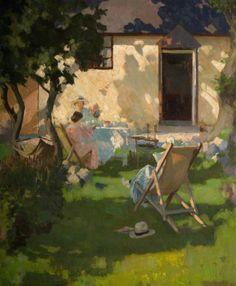 Summer Cottage - William Harold DudleyBritish 1890-1949
