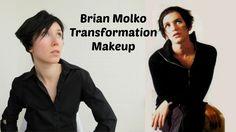 Smokey eyes makeup totorial inspired by Brian Molko