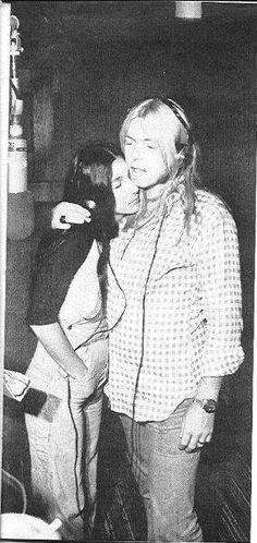 Cher & Gregg recording in 1977