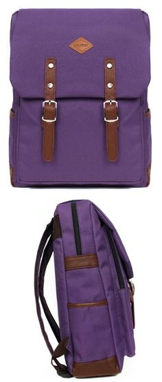 Icon Cool Backpack for School Casual Laptop Daypack for Men/women - love the purple of this laptop backpack