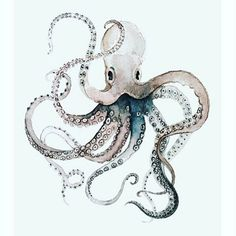 Image result for 3D octopus murals tutorials